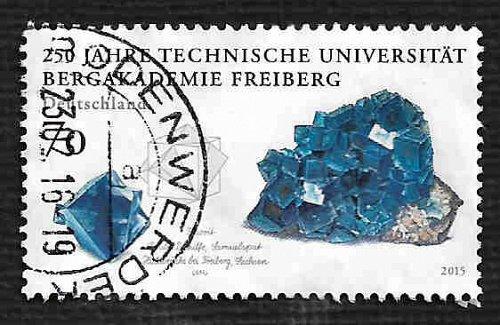German Used Scott #2873 Catalog Value $.80