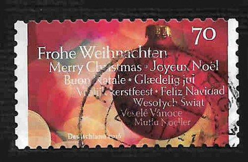 German Used Scott #2940 Catalog Value $.75
