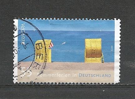 German Used Scott #2674 Catalog Value $.75