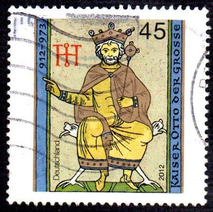 German Used Scott #2685 Catalog Value $.60