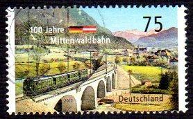 German Used Scott #2687 Catalog Value $1.00