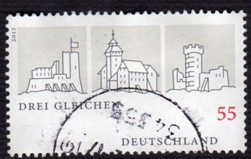 German Used Scott #2695 Catalog Value $.70