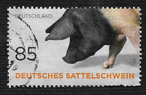 German Used Scott #2934b Catalog Value $.85