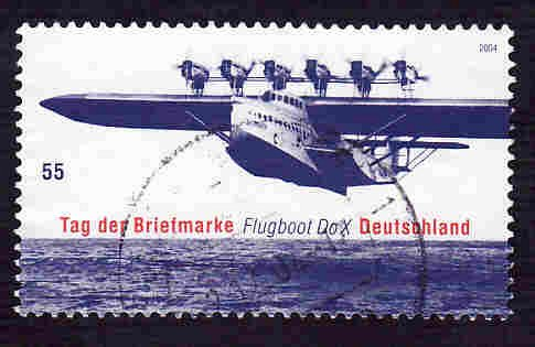 German Used Scott #2300 Catalog Value $.75