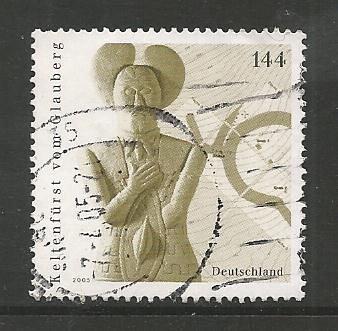 German Used Scott #2306 Catalog Value $1.75