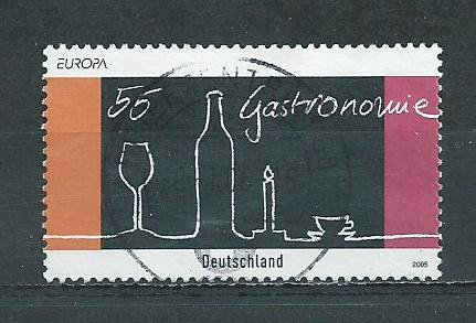 German Used Scott #2341 Catalog Value $.80