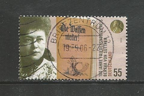 German Used Scott #2360 Catalog Value $.80