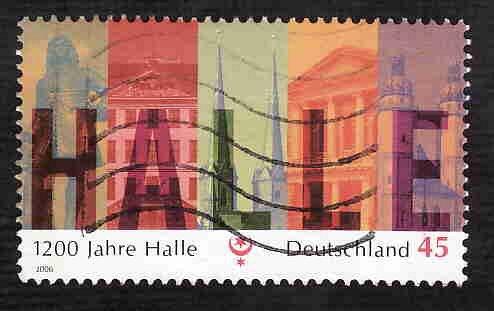 German Used Scott #2362 Catalog Value $.65