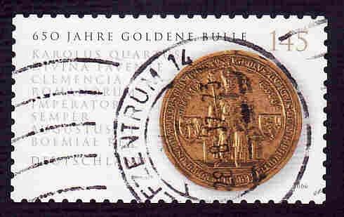 German Used Scott #2369 Catalog Value $2.10