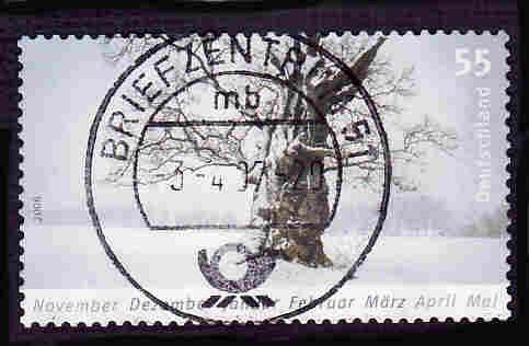 German Used Scott #2400 Catalog Value $.80