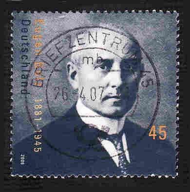 German Used Scott #2401 Catalog Value $.65