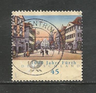 German Used Scott #2424 Catalog Value $.70
