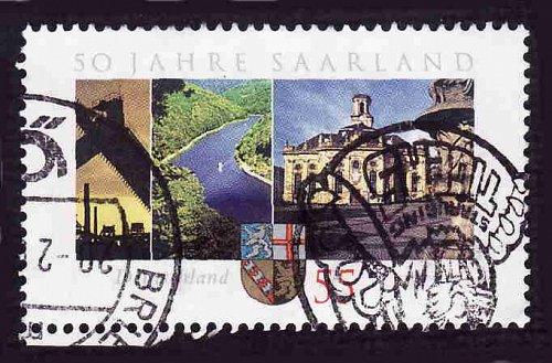 German Used Scott #2428 Catalog Value $.80