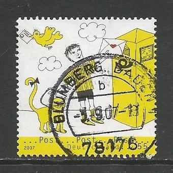 German Used Scott #2438 Catalog Value $.80