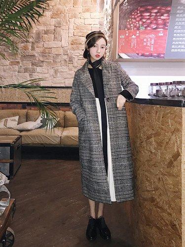 women fashion long jacket