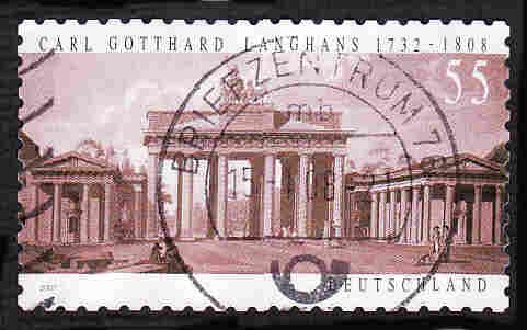German Used Scott #2464 Catalog Value $.80