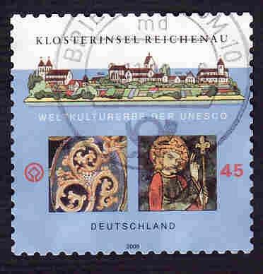 German Used Scott #2466 Catalog Value $.70