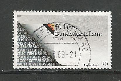 German Used Scott #2468 Catalog Value $1.40