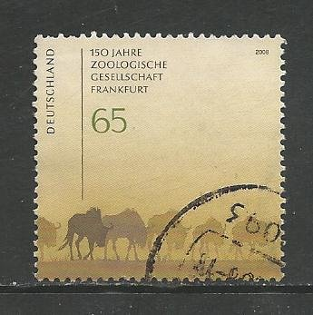 German Used Scott #2477 Catalog Value $1.10
