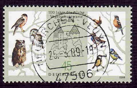 German Used Scott #2478 Catalog Value $.75