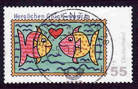 German Used Scott #2487 Catalog Value $.85