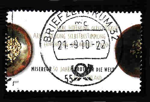 German Used Scott #2515 Catalog Value $.75