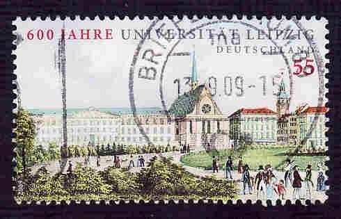 German Used Scott #2539 Catalog Value $.80