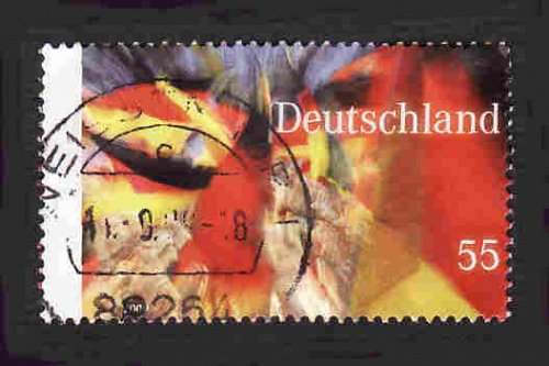 German Used Scott #2547 Catalog Value $.80
