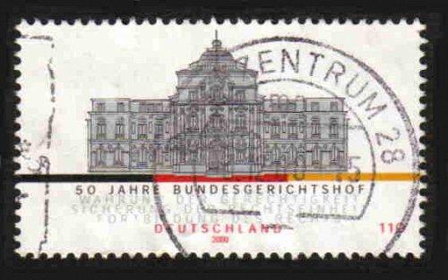 German Used Scott #2100 Catalog Value $.85