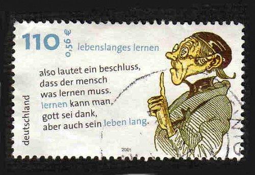 German Used Scott #2136 Catalog Value $.75