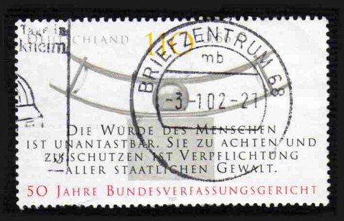 German Used Scott #2137 Catalog Value $.75