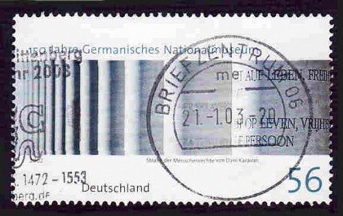 German Used Scott #2169 Catalog Value $.80