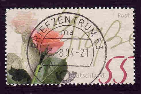 German Used Scott #2227 Catalog Value $.80