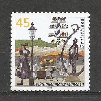 German Hinged ng Scott #2261A Catalog Value $1.35