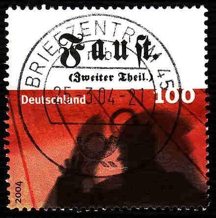 German Used Scott #2276b Catalog Value $1.40