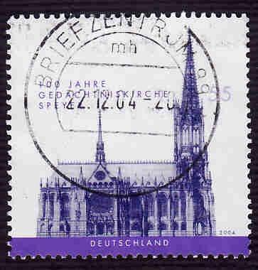 German Used Scott #2292 Catalog Value $.80