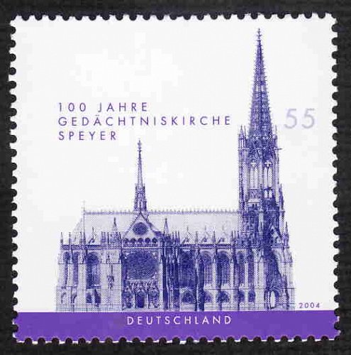 German MNH Scott #2292 Catalog Value $1.50
