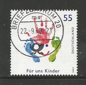 German Used Scott #2297 Catalog Value $.80