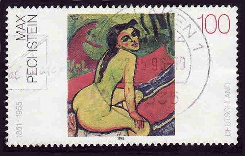 German Used Scott #1922 Catalog Value $.50
