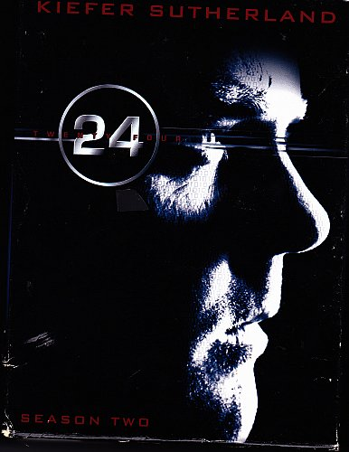 24 - Complete 2nd Season DVD 2009, 7-Disc Set - Very Good