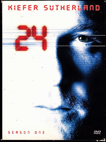 24 - Complete 1st Season DVD 2007, 6-Disc Set - Very Good