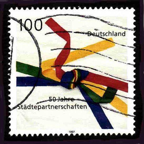 German Used Scott #1967 Catalog Value $.70