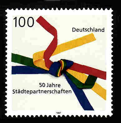 German MNH Scott #1967 Catalog Value $1.10