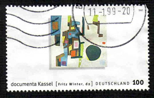 German Used Scott #1971a Catalog Value $1.43