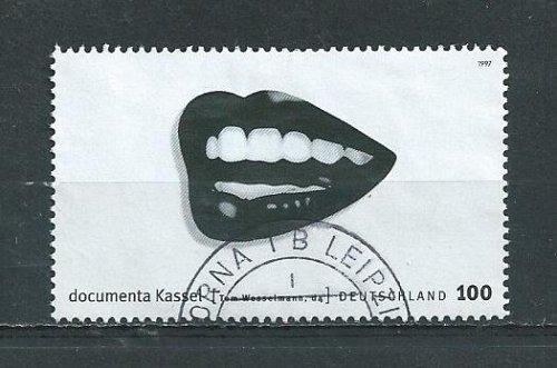 German Used Scott #1971b Catalog Value $1.00