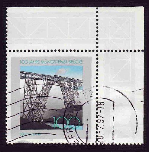 German Used Scott #1972 Catalog Value $.70