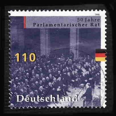 German Used Scott #2005a Catalog Value $2.25