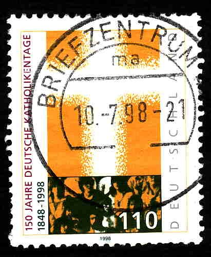 German Used Scott #2006 Catalog Value $.70
