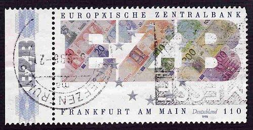 German Used Scott #2009 Catalog Value $1.05