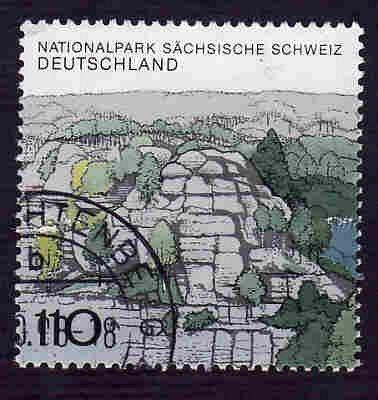 German Used Scott #2009Ab Catalog Value $1.50